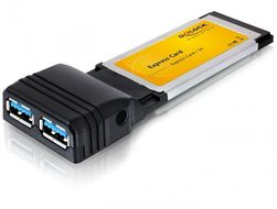 2x USB 3.0 Express Card 34