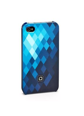 HARD COVER F IPHONE 4 / 4S BLUE .