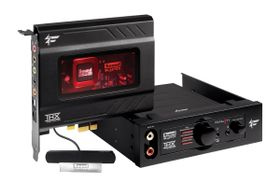 SB Recon3D Fatality Champion PCIe-x1,  7.1 Surround, Core3D, DD-Live, THX, CrystalVoice,  600Ohm headphone amp