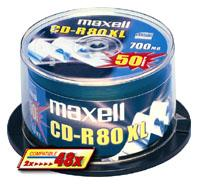 CD-R 80XL 700MB SILVER 1-48X SPINDEL 100-PACK NS