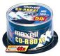 MAXELL CD-R 80XL 700MB SILVER 1-48X SPINDEL 100-PACK NS