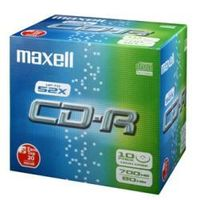 CD-R 80XL 700MB SILVER 1-48X SLIMCASE 10-PACK NS