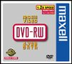 MAXELL DVD-RW 4.7 DATA / 120 MIN VIDEO 2X JEWELCASE 5-PACK NS