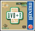 MAXELL DVD+R 4.7GB DATA 8X SLIMCASE 10-PACK NS