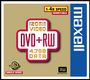MAXELL DVD+RW 120 MIN 4X CAKEBOX 10 PCS NS
