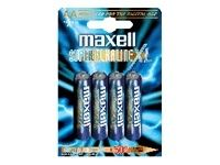 BATTERY LR-03 XL 4-PACK SUPER ALKALINE NS