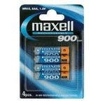 MAXELL NI-MH RECHARGEBLE BATTERY (AAA) HR-03 900MAH BLISTER 4-PACK NS (785992)