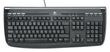 LOGITECH interbet 350 keyboard, sort, ps2.
