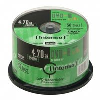 1x50 DVD-R 4,7GB 16x Speed, Cakebox