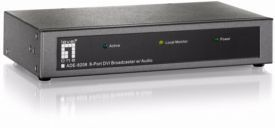 Audio/ Video Extender Broadcaster, 8-p  DVI 1920x1200