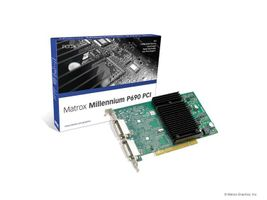 MILLENNIUM P690 PCI 128MB DUALHEADGRAPHICS CARD ROHS AND WEEE COMPLIANT