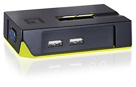 KVM Switch  2-port USB