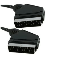Scart Cable standard 2m Scart Male - Scart Male. V19