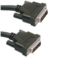 DVI-D Monitor Cable 10m Dual Link 2xDVI-D Male. V53
