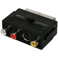 ICIDU Scart Adap. video/ audio S-Video+3xRCA F In-Out. V18 (V-707418)