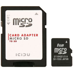 ICIDU Micro Secure Digital 1GB (SI-707120)