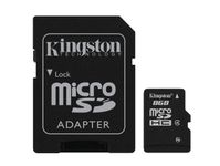 Minneskort Kingston MicroSD 8GB