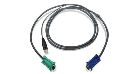 IOGEAR 6FT USB KVM CABLE FOR USE W/ GCS1716 (G2L5202U)