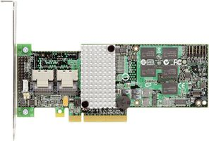 RAID RS2BL080 8P 6G SAS BIG LAUREL 8 PCIE 2X8 512MB LP IN