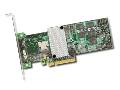 LSI SAS9260-4I KIT RAID 4PORT INT 6GB SAS/SATA PCIE 2.0 512MB (LSI00201)