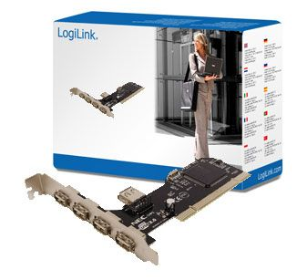 USB 2.0 Card PCI 4+1 Port