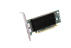 VIDEO CARD M9128 LP PCIE X16 DUALHEAD DISPLAY WITH 1GB OF MEMORY RETAIL