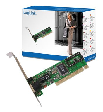 PCI Adapter LogiLink Fast Ethe