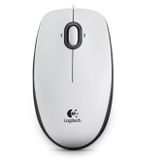 LOGITECH M 100 Mouse USB white