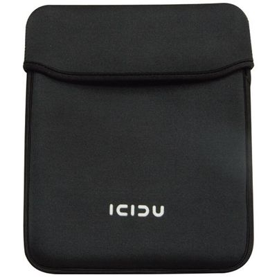 iPAD Neoprene Sleeve black, fuzzy lining