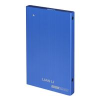 Lian Li EX-10QI 2,5 External HDD Case USB 3.0 - blue