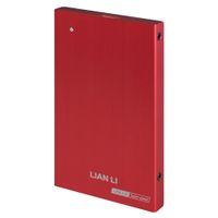 Lian Li EX-10QR 2,5 External HDD Case USB 3.0 - red