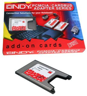 Compact Flash Adapter an PCMCIA Adapter