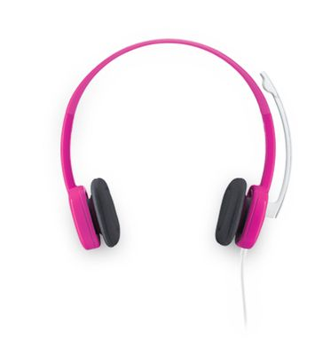 STEREO HEADSET H150 CRANBERRY .