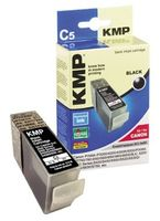 KMP C5 ink cartridge black compatible with Canon BCI-3e BK (0957,0001)