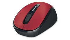 MICROSOFT MS Wireless Mobile Mouse 3500 red