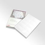 10x Business Card 50sheets for color printer