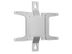 SMS WALL VESA 75/100 LCD WALLSTAND  SILVER IN