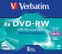 VERBATIM 4x DVD-RW 4,7GB (SERL) 5-pack Jewel Case
