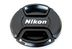NIKON LC-52  Nikon Objektivdeksel front   Snap-On 52mm