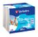 VERBATIM CD-R 80min 700MB DataLife Plus Wide Printable 52xSpeed *20-pack* SlimCase