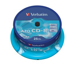 VERBATIM 52x CD-R 80min 700MB