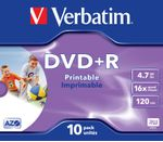 VERBATIM DVD+R Media 16X Wide