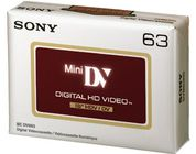 SONY 1x DVM63HDV Mini DV 63min High Definition DV