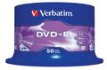 VERBATIM DVD+R Media 16X 4.7GB Advanced AZO 50 Pack Spindel Retail
