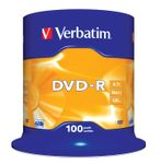 VERBATIM 16x DVD-R disc 4,7GB