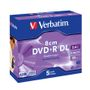 VERBATIM DVD+R 8cm 2,8GB Double Layer