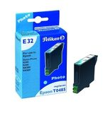 PELIKAN For Use In Epson Stylus Photo R200/ R300/ R300M Cyan light Ink Cartridge