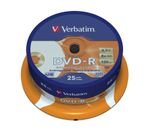 VERBATIM 8x DVD-R disc 4,7GB