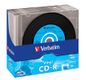 VERBATIM CD-R BLACK VINYL 52X 10P SLIM
