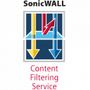 SONICWALL Prem Content Filter Service f 2400 1Yr